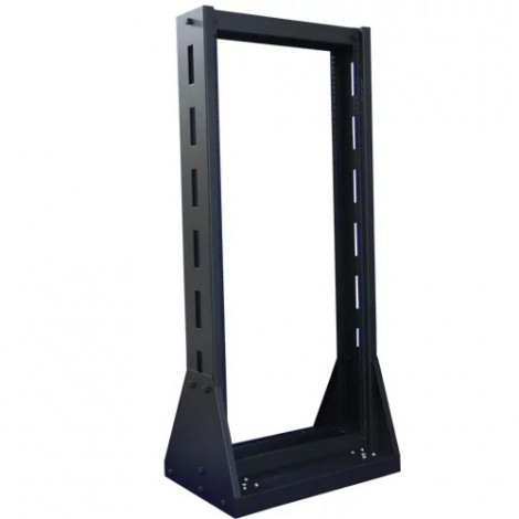 "Indorack Open Rack 19"" Series Height 45U Width 600mm Depth 600mmOpen Rack Complete Set : 1unit 6 outlet powerset, 30 Pcs Cagenuts & Screws"