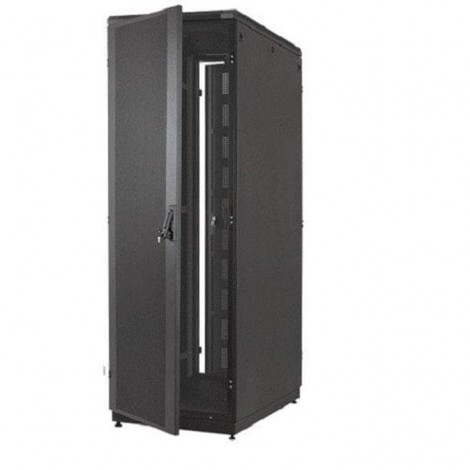"""ABBA RACK 19""""Closed Rack 42U,dept 1200mm ,Top,Bottom,Side,Glass Front Door,Back Metal Door,*Maximum static load 1500 kg,include :-1 set Roof Fan incld 2 Fan-1 unit Vertical Power 12 outlet 16A with surge protection-50 pcs Cage Nut & M6 Screw-4"""