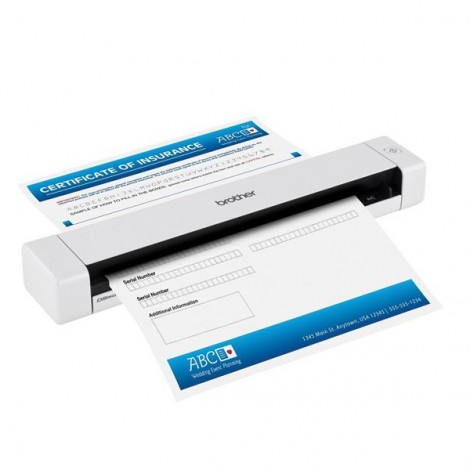 Scanner Brother DS-620 (Portable, Simplax Scanning, Duty Cycle Up To 100 pages, 7,5 ppm)