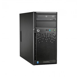 HP ProLiant ML10 v2 (1) Intel(R) Xeon(R) E3-1220v3 (3.1GHz/4-core/8MB/80W) Processor 3MB (1 x 3MB) L3 cache 4GB (1 x 4GB) PC3-12800E DDR3 UDIMM HP Ethernet 1Gb 2-port 332i Adapter HP Dynamic Smart Array B120i Controller 1x1TB SATA drive and 3 LFF hard dri