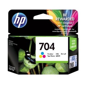 HP 704 Tri-color Ink Cartridge