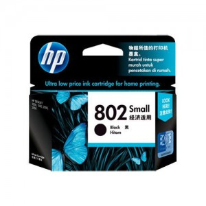 HP 802 Small Black Ink Cartridge