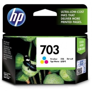 HP Deskjet 703 Tri-color Ink Cartridge