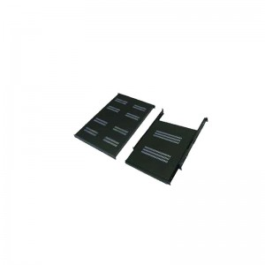 "ABBA-24"" Flat Shelf 740mm 1U for Closed Rack dept 1070mm-1150mm"