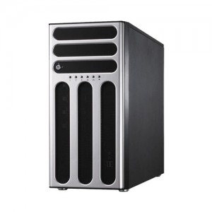Asus Server TS500-E8/PS4 : Intel Xeon E5-2600v3 with 8DIMM Slots, 1 PSU 500 Watt non redundant, 1x E5-2603v3, 4GB DDR4 Registered , 1 TB SATA 7.2Krpm HDD, DVD RW Tower.