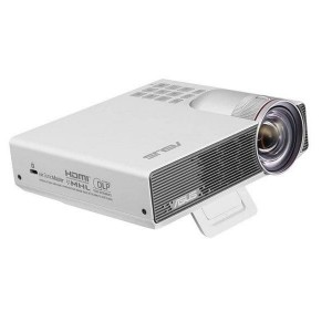 ASUS P3B Portable LED Projector, WXGA (1280*800), 800 lumens, Built-in 12000mAh battery, 3 hour long projection, Wireless Projection, Power bank, Multimedia Player /2Years Warranty