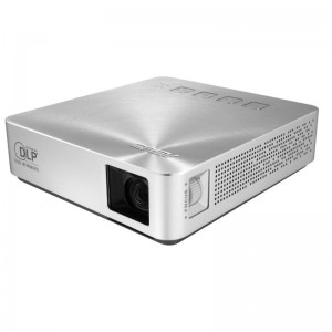 ASUS S1 Portable LED Projector, 200 lumens, Built-in 6000mAh battery, 3 hour long projection, Power bank /2Years Warranty
