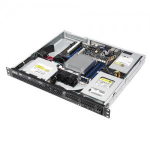 Asus Server RS100-E9/PI2 E3-1240v6 3.7GHz Turbo 4.1Ghz 8MB Cache, 8 GB DDR4 ECC, 1 TB SATA 7.2Krpm Enterprise Storage, 2x Intel Gigabit i210AT,  Mini Rackmount 1U.