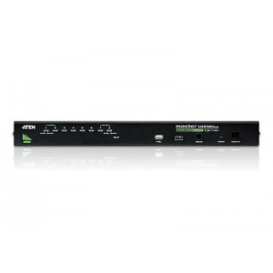 8 Port PS/2-USB VGA KVM Switch With Daisy-Chain Port and USB Peripheral Support
