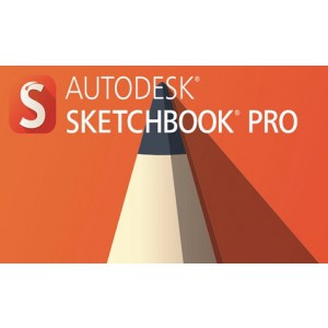 Autodesk SketchBook Pro for Enterprise 2016 Commercial New Single-user ELD Quarterly Subscription with Basic Support