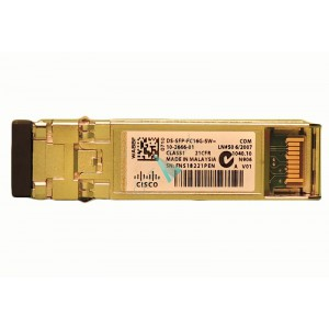 Cisco 16 Gbps Fibre Channel SW SFP+, LC