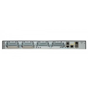 Cisco 2901 w/2 GE 4 EHWIC 2 DSP 256MB CF 512MB DRAM IP Base