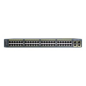 Catalyst 2960 Plus 48 10/100 + 2 T/SFP LAN Lite