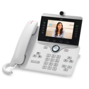 Cisco IP Phone 8845, White