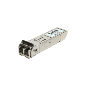 1-port 1000Base-LX (LC) Single-mode Fiber SFP (Mini-GBIC) Transceiver (Up to 15km, Support 3.3V Power)
