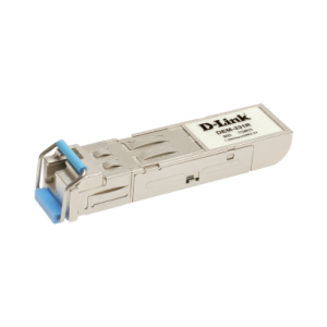 1-port 1000Base-LX (LC) Single-mode Fiber SFP (Mini-GBIC) Transceiver (Up to 40km, Support 3.3V Power) (TX-1310/RX-1550 nm)