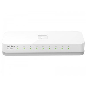 D-Link 8-port 10/100M Unmanaged Switch