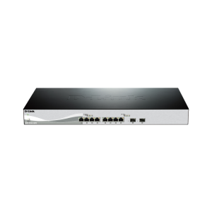 10G Smart Switch with 8-port 10GBASE-T and 2-port 10GBASE-T/SFP+ combo port