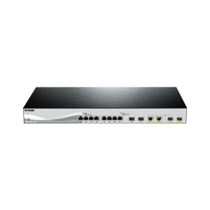 10G Smart Switch with 8-port 10GBASE-T and 2-port 10G SFP+ and 2-port 10GBASE-T/SFP+ combo port