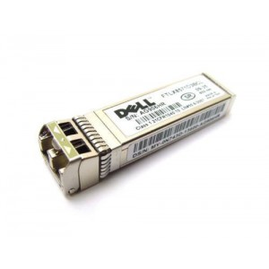 Dell Networking, Transceiver, SFP+, 10GbE, SR, 850nm Wavelength, 300m Reach