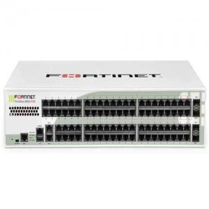 FORTINET FG-280D-POE 86 x GE RJ45 ports (including 52 x LAN ports, 2 x WAN ports, 32 x PoE ports), 4 x GE SFP DMZ ports, SPU NP4Lite and CP8 hardware accelerated, 64GB onboard SSD storage