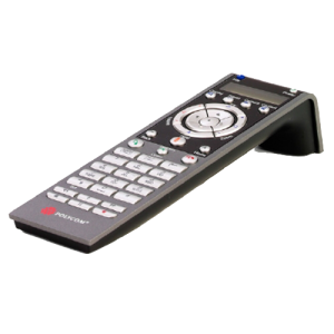 HDX remote control for use with HDX Series codecs, English version