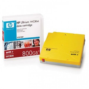 HP LTO3 Ultrium 800GB WORM Data Tape