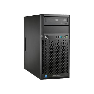 HP ProLiant ML10 E3-1225v5 - 4LFF NHPL (1) Intel(R) Xeon(R) Xeon E3-1225v5 (3.3GHz/4-core/8MB/80W), 8GB (1 x 8GB) DDR4-2133MHz UDIMM, HPE Ethernet 1Gb 1-port, HPE Intel RST SATA RAID, 1x1TB SATA, DVD-RW, HPE 300W, Micro ATX Tower (4U), Warranty 3-3-3 FC N