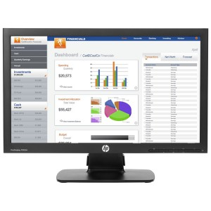 HP ProDisplay P202m 20-inch LED Monitor
