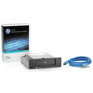 HP RDX 2TB USB3.0 Int Disk Backup Sys
