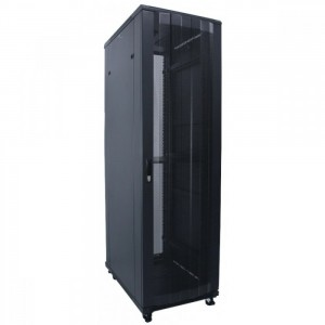 "Indorack Standing Close Rack 19"" - Perforated Door Height 20U Width 600mm Depth 600mm Close Rack Included Accessories : front door, steel rear door, 2side door with lock, 1unit 8 outlet powerset (20U 27U 32U) with switch, 1unit 12 outlet powerset (42U 45U"