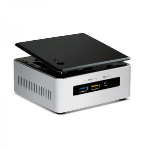 Intel NUC Core i5-5250U Processor (3M Cache, 2.70 GHz), Intel SSD 120GB M.2, Memory 4GB DDR3L, Windows 10 Home