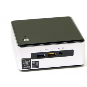 Intel NUC Core i7-5557U Processor (4M Cache,3.10 GHz up to 3.40 Ghz ), HDD WD 500 GB, Memory 4GB DDR3L, Windows 10 Home