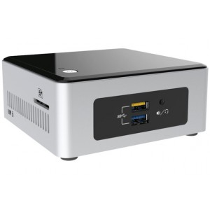 Intel NUC Celeron processor N3700, SD card slot, 32GB eMMC on-board, Memory 2GB DDR3L, Windows 10