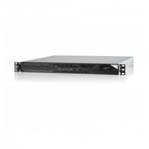 "Intel Redstone E3-1220V3 CPU, S1200V3RPL, 1U Rackmount Server Chassis Hotswap 3.5"" x 4 (for E3), 1U Bronze level 300W PSU, King Slide 24"" Ball Bearing Rail Kits, 8GB ECC DDR3"