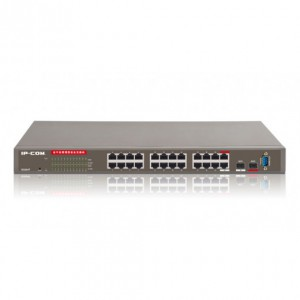 IPCom G3224T 24-Ports Gigabit L2 Managed Switch 24*GE+2*SFP+ 1*Console, Managable Full, Dimension 440*284*44mm, Weight (kg) 4.35