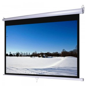 D-LIGHT Layar Manual 84″ (213 x 213 cm) MWSDL2121L Screen Projector