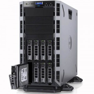 "DELL PowerEdge T330 (Tower)Intel(R) Xeon(R) Processor E3-1220 V6 3.0GHz, 8M Cache, 4C/4T, Turbo (72W)2x8GB UDIMM, 2400 MT/s, ECC1TB 7.2K RPM Near Line SAS, 6Gbps 3.5"" Hot Plug Hard Drive, 13G (max. HDD 8x3.5"", SATA / SAS) PERC H330 Integr"