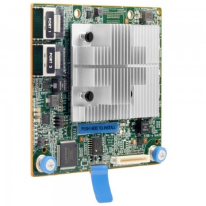 HP Smart Array E208i-a SR Gen10 (8 Internal Lanes/No Cache) 12G SAS Modular LH Controller
