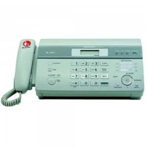 Panasonic KX-FT987CX Thermal Facsimile With Auto Cutter & Answering Machine, Color : Black & White