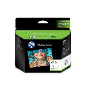HP 28 Photo Pack Glossy 4x6.5 AP 25 Sht