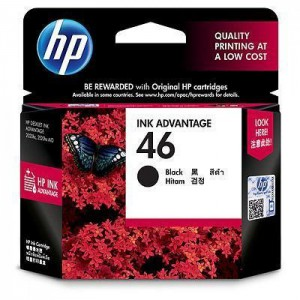 HP 46 Black Ink Cartridge