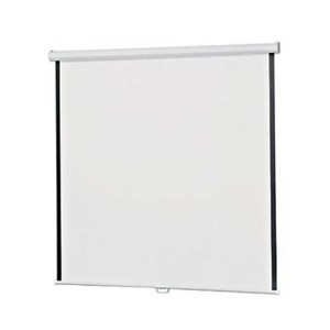 "Infocus Manual Wall Screen 70"" Size : 178 cm x 178 cm"
