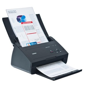 SCANNER BROTHER ADS-2100e A4/F4, 24ppm, Duplex, ADF 50 sheet 1.500 sheets/day, 2x CIS, 600 dpi, USB 2.0, 3.3kgs