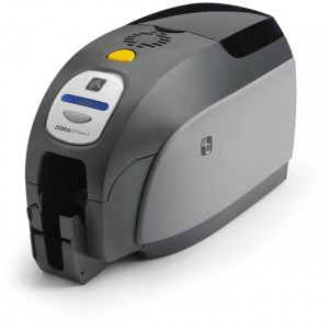 Zebra ZXP Series 3 single-sided card printer, USB, AP Cord