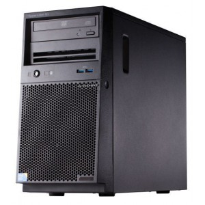 Lenovo System X3100 M5 (Tower), Xeon 4C E3-1220v3 80W 3.1GHz/1600MHz/8MB, 1x4GB, O/Bay SS 3.5in SATA