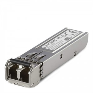 Linksys 1000Base-SX SFP Transceiver; 1Gbps, up to 500M, for MMF optical fiber