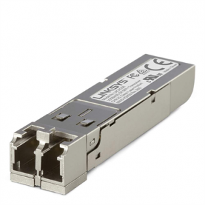 Linksys 10GBase-SR SFP+ Transceiver; 10Gbps, up to 300M, for MMF optical fiber