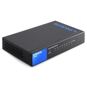 Linksys 8-Port Smart GigabitSwitch. Proven Performance and Reliability; Easy configuration and management; Network security; IPv6 support Key selling point:Dynamic vlan,dhcp snooping,802.1x RADIUS