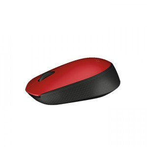 Logitech M 171 Wireless Mouse - Red